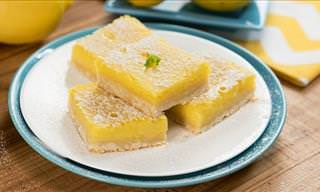 How to Make Extremely Tasty Lemon Bars