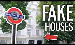The Fake Houses Of London