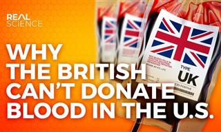 Why British People Are BANNED From Donating Blood In the US