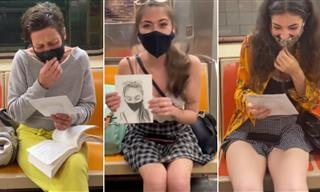 This Artist Draws Portraits of Strangers on the Subway