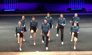 Cloggers Give a Wonderful Dance Routine