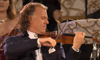 Andre Rieu Performing 'You Raise Me Up'