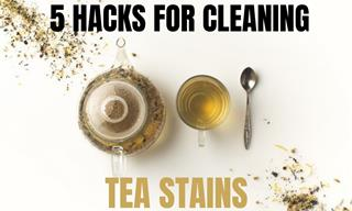 Get Rid of Tea Stains Easily with These Hacks!