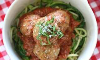 The 63 Calorie Spaghetti and Meatball Recipe!