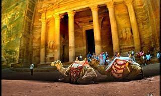 Petra, The Beautiful Rose Red City of Rock