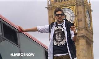 How on Earth Did This Magician Float Through London?