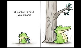 15 Wholesome Animal Comics Filled With Love & Warmth