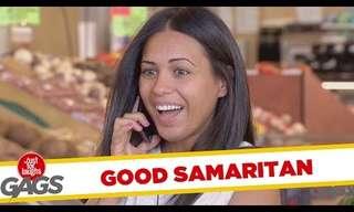 Hilarious Good Samaritan Prank Compilation!