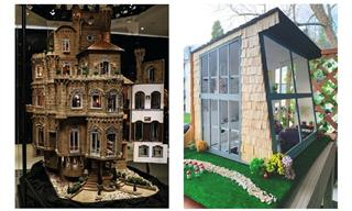 The Intricate Details in These Dollhouses Are Fascinating
