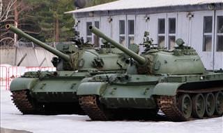 A Glimse Into the Soviet Kubinka Tank Museum