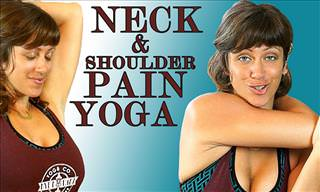 Yoga For Neck & Shoulder Pain Relief
