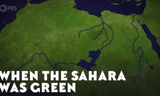 Watch How The Sahara Was Completely Lush Green Ages Ago