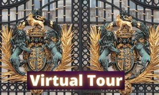 Take a Virtual Reality Tour Around Buckingham Palace