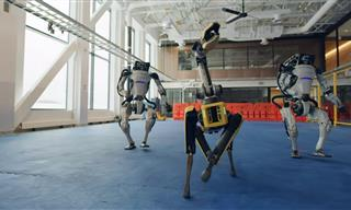 Incredible Dance by Robots From Boston Dynamics