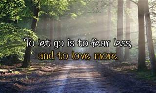 To Let Go Is...