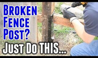 10 Video Tutorials to Help Your Fix a Fence