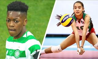 8 Talented Kids Who Actually Play Professional Sports