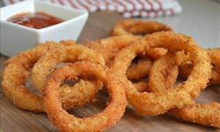 How to Make Tasty Onion Rings at Home