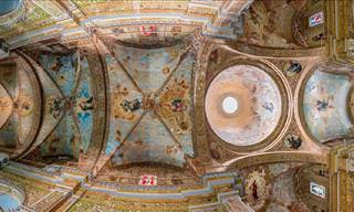 Beautiful Photos of Church Ceilings