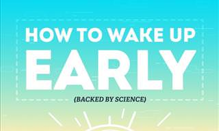 How to Wake Up Early According to Science