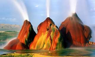 Nature's Water Show: The Fly Geyser