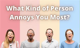 Test: What Kind of People Irritate You?