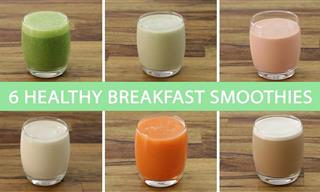 Start Your Day With These Nutritious Breakfast Smoothies