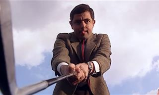 Funny: Mr. Bean Never Expected a Round of Golf Like That!