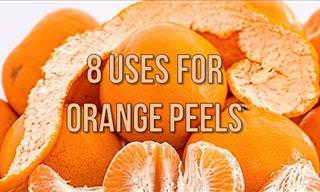 8 Alternative Uses for Orange Peels