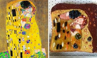18 Cute and Funny Sandwiches Inspired by Iconic Paintings