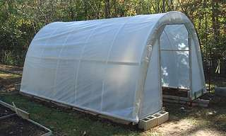 Gardener? Build Your Own Greenhouse