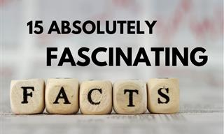 15 Facts So Fascinating You'll Have to Pass Them On!