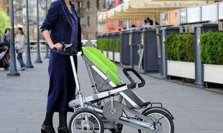 This Stroller Has a Secret...