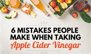 6 Mistakes People Make When Taking Apple Cider Vinegar