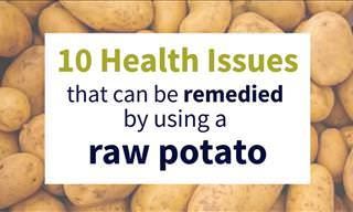 10 Health Issues That Can be Cured with a Potato
