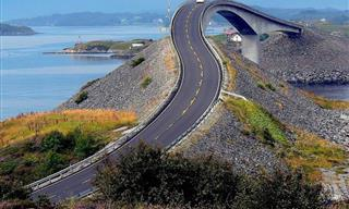 These Roads Have Got to Be the Most Beautiful in the World