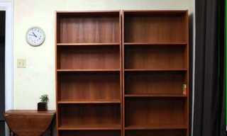 The Dancing Bookcase - Beautiful!