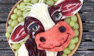 Incredible Food Art That's Easy on the Eyes and Tummy