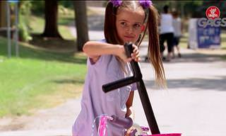 Hilarious: Don't Mess With This Little Girl!