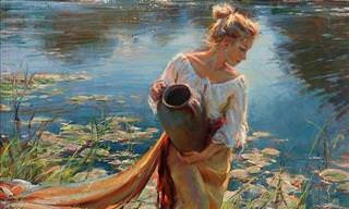 The Bewitching Paintings of Daniel Gerhartz...