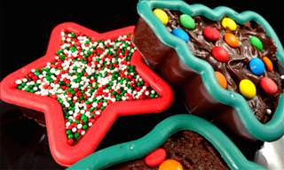 Cookie Cutter Fudge Treats For Christmas