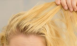 9 Tips to Help You Get Rid of Greasy Hair