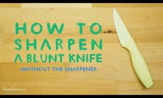 A Fool-Proof Method to Honing Kitchen Knives
