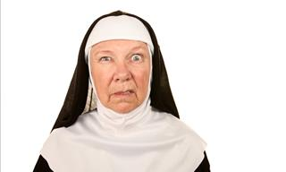 Joke: The Nun and the Fig Leaf