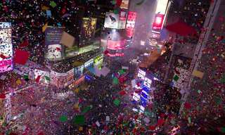 How the World Celebrated the New Year of 2014!