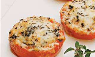 Delicious Baked Parmesan Tomatoes