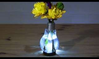 Learn How to Make a Beautiful Glowing Vase