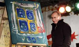 When World Leaders Paint...