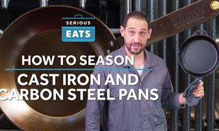 How to Season a Cast Iron Skillet the Right Way