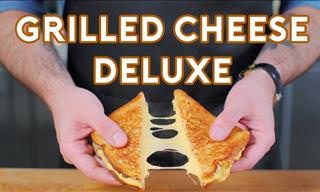 Grilled Cheese: The Deluxe, Most Delicious Edition!